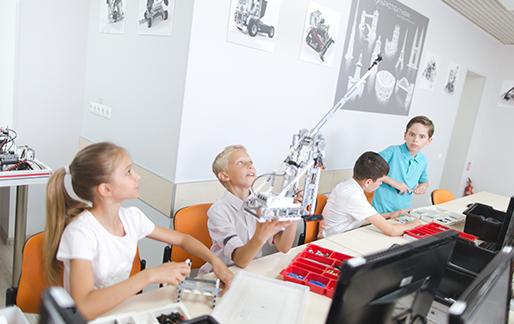 Курс «Проектна робототехніка Mindstorms»