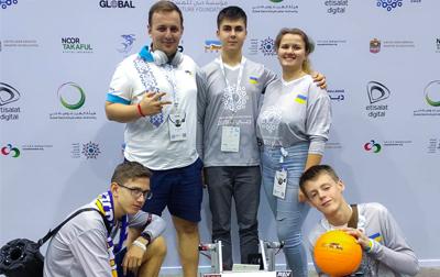 Україна ввійшла до десятки найкращих команд планети на Всесвітніх олімпійських іграх із робототехніки!